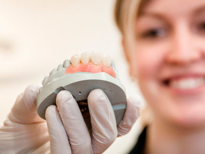 Протезирование зубов в Харькове